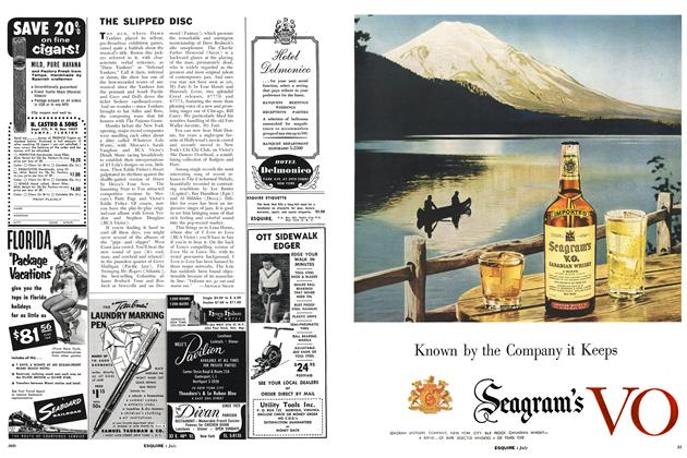 Article Preview: THE SLIPPED DISC, JULY, 1955 1955 | Esquire