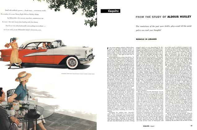 Article Preview: MIRACLE IN LEBANON, AUGUST, 1955 1955 | Esquire
