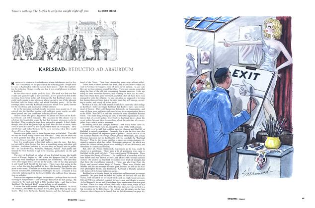 Article Preview: KARLSBAD: REDUCTIO AD ABSURDUM, AUGUST, 1955 1955 | Esquire