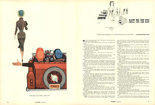 Article Preview: Party for the Kids, September 1955 | Esquire