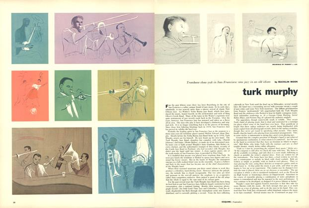 Article Preview: Turk Murphy, September 1955 | Esquire