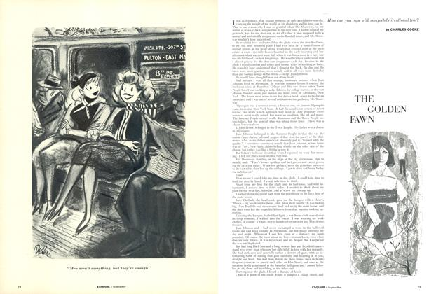 Article Preview: The Golden Fawn, September 1955 | Esquire