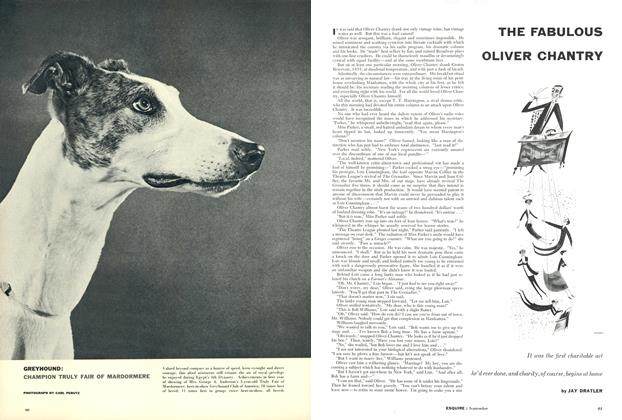 Article Preview: The Fabulous Oliver Chantry, September 1955 | Esquire