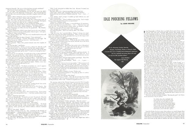 Article Preview: Idle Pouching Fellows, SEPTEMBER 1955 1955 | Esquire