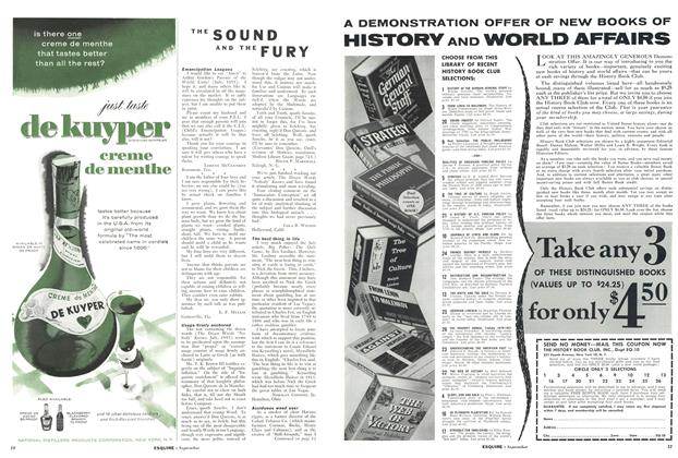 Article Preview: The Sound and the Fury, SEPTEMBER 1955 1955 | Esquire