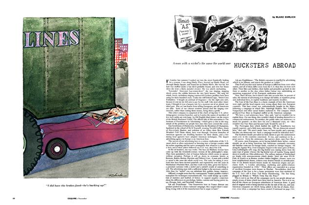 Article Preview: Hucksters Abroad, NOVEMBER, 1955 1955 | Esquire