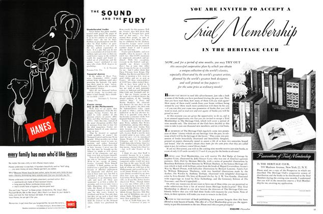 Article Preview: The Sound and the Fury, NOVEMBER, 1955 1955 | Esquire
