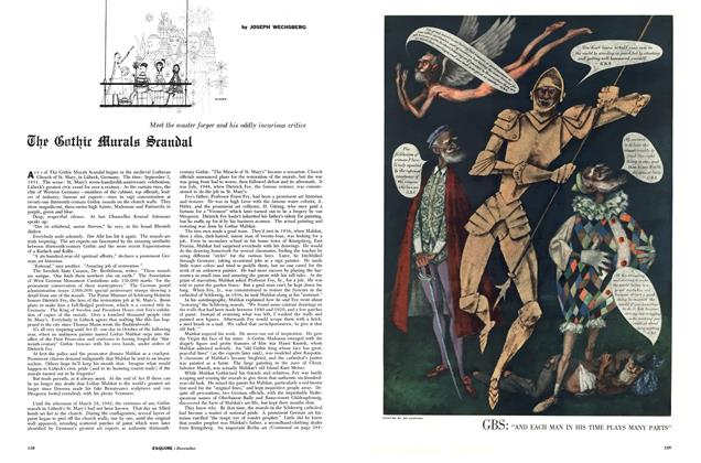 The Gothic Murals Scandal
