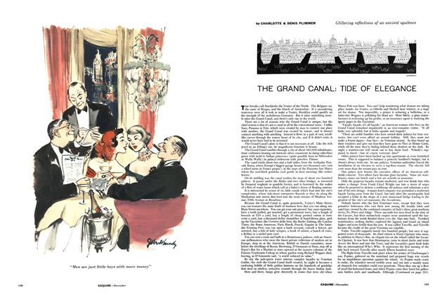 The Grand Canal: Tide of Elegance