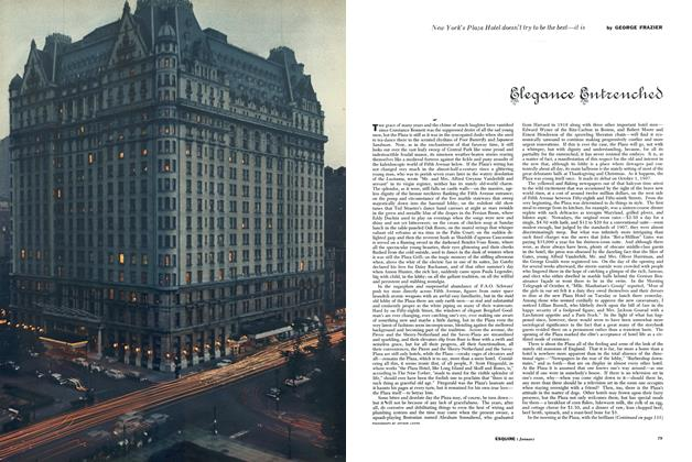 Article Preview: Elegance Entrenched, JANUARY, 1956 1956 | Esquire