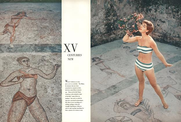 Article Preview: Xv Centuries New, FEBRUARY, 1956 1956 | Esquire