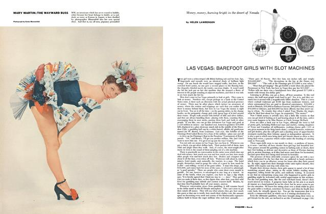 Article Preview: Las Vegas: Barefoot Girls with Slot Machines, March 1956 | Esquire