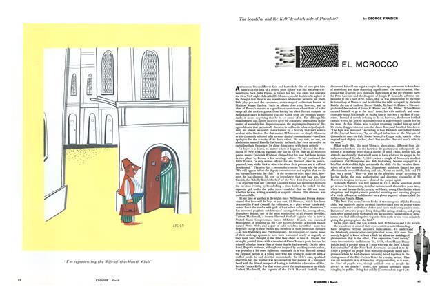 Article Preview: El Morocco, MARCH, 1956 1956 | Esquire