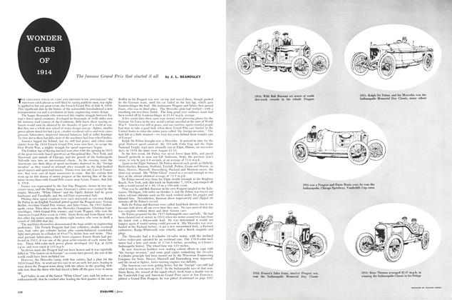 Article Preview: Wonder Cars of 1914, JUNE, 1956 1956 | Esquire