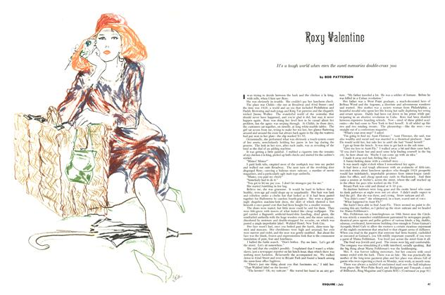 Article Preview: Roxy Valentine, JULY, 1956 1956 | Esquire
