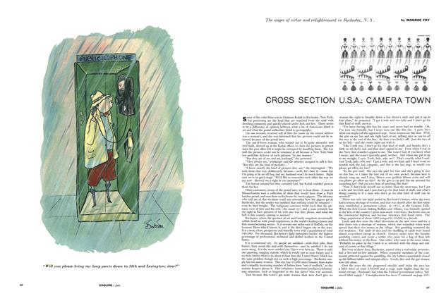 Article Preview: Cross Section U.S.A.: Camera Town, JULY, 1956 1956 | Esquire