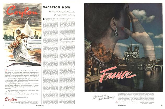 Article Preview: Vacation Now, JULY, 1956 1956 | Esquire