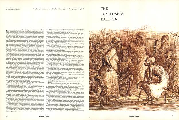Article Preview: The Tokoloshi's Ball Pen, AUGUST, 1956 1956 | Esquire