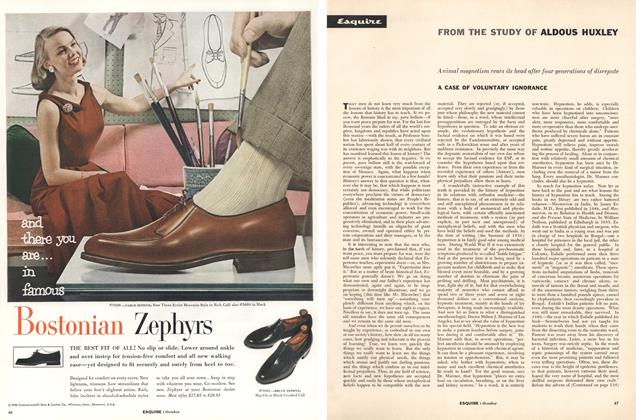 Article Preview: A Case of Voluntary Ignorance, October 1956 | Esquire