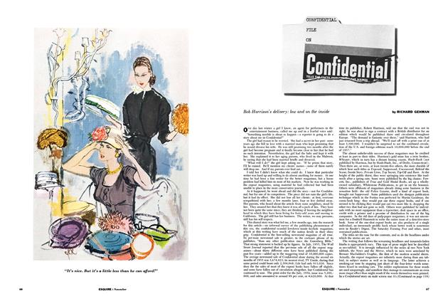 Article Preview: Confidential File on Confidential, NOVEMBER, 1956 1956 | Esquire
