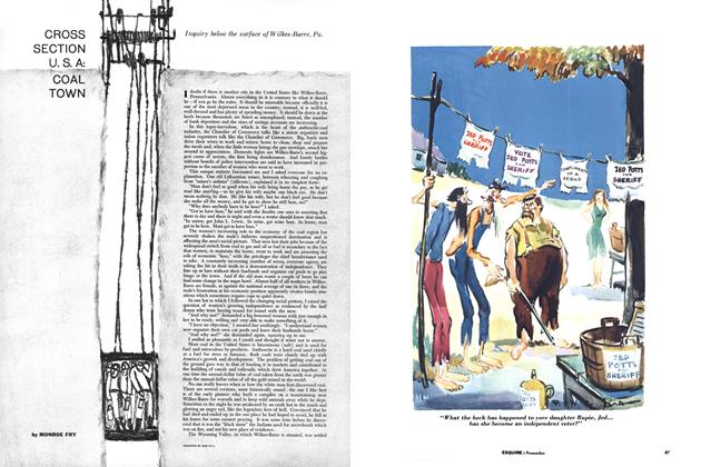 Article Preview: Cross Section U.S.A: Coal Town, NOVEMBER, 1956 1956 | Esquire