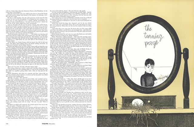 Article Preview: The Turning Page, DECEMBER, 1956 1956 | Esquire