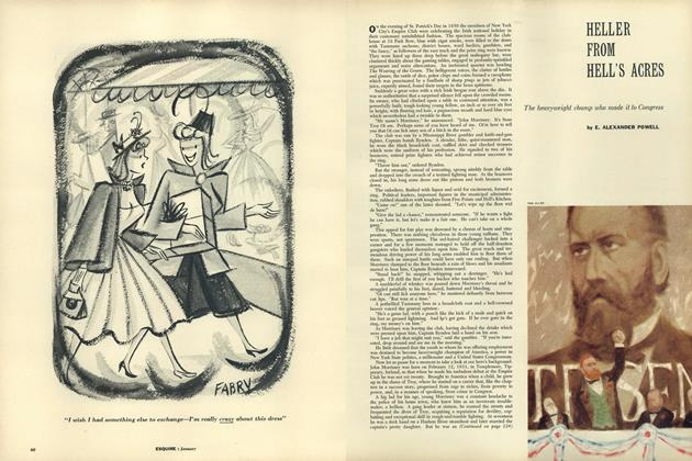 Article Preview: Heller From Hell's Acres, JANUARY, 1957 1957 | Esquire