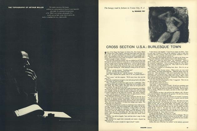 Article Preview: The Topography of Arthur Miller, JANUARY, 1957 1957 | Esquire
