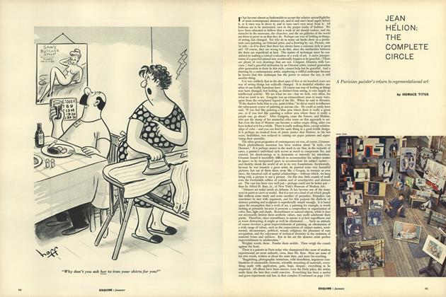 Article Preview: Jean Hélion: the Complete Circle, JANUARY, 1957 1957 | Esquire