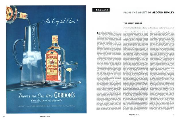 Article Preview: The Oddest Science, MARCH, 1957 1957 | Esquire