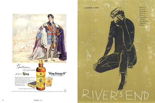 Article Preview: River's End, MARCH, 1957 1957 | Esquire
