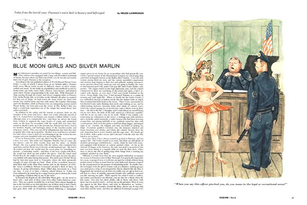 Article Preview: Blue Moon Girls and Silver Marlin, March 1957 | Esquire
