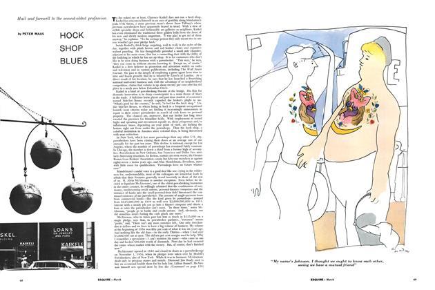 Article Preview: Hock Shop Blues, MARCH, 1957 1957 | Esquire