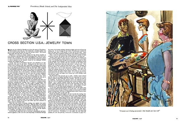 Cross Section U.S.A.: Jewelry Town