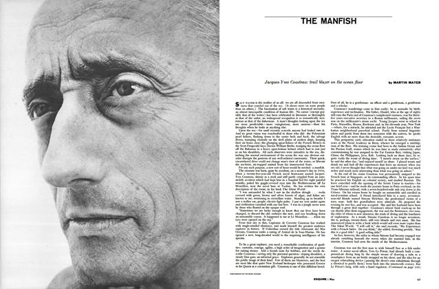 Article Preview: THE MANFISH, MAY, 1957 1957 | Esquire