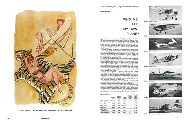 Article Preview: WHO, ME, FLY MY OWN PLANE?, MAY, 1957 1957 | Esquire
