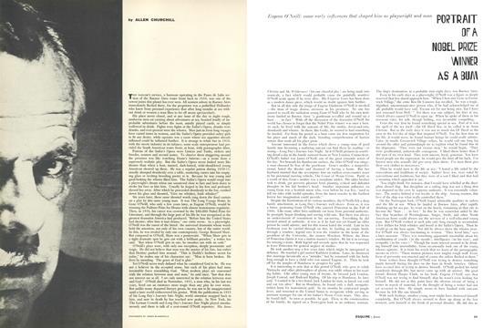 Portrait of a Noble Prize Winner as a Bum - June   Esquire