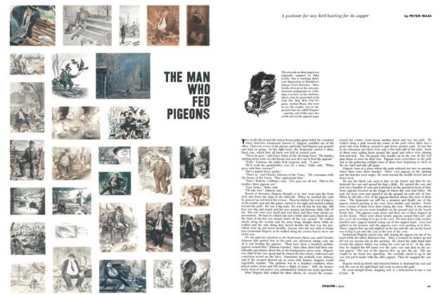 Article Preview: The Man Who Fed Pigeons, JUNE, 1957 1957 | Esquire