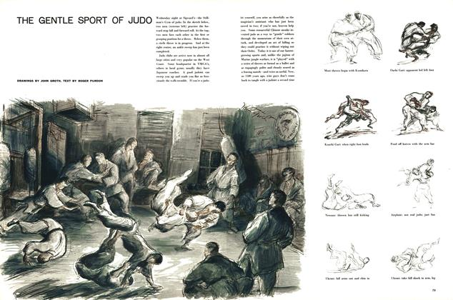 Article Preview: The Gentle Sport of Judo, JUNE, 1957 1957 | Esquire