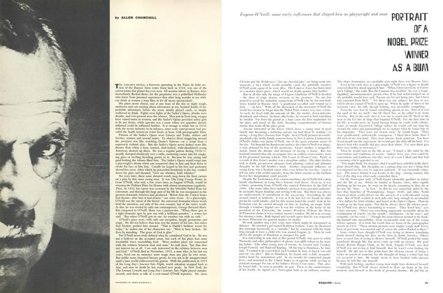Article Preview: Portrait of a Noble Prize Winner as a Bum, June 1957 | Esquire