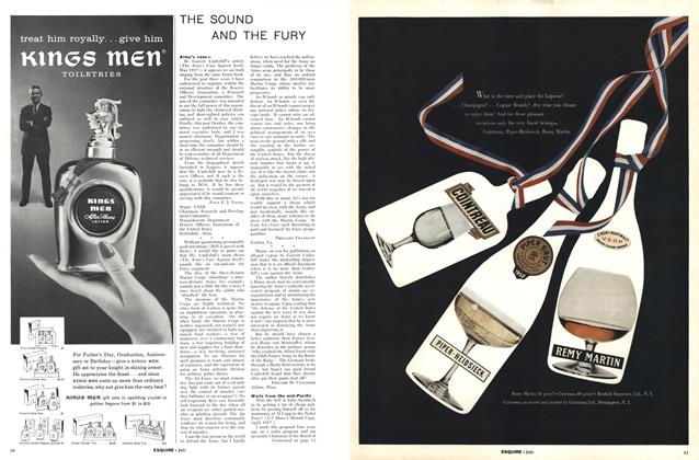 Article Preview: The Sound and the Fury, JULY, 1957 1957 | Esquire