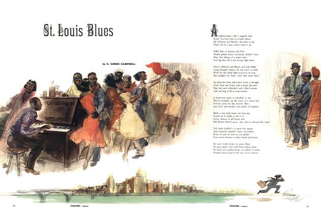 Article Preview: St. Louis Blues, AUGUST, 1957 1957 | Esquire