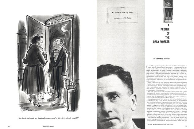 Article Preview: A Profile of the Daily Worker, AUGUST, 1957 1957 | Esquire