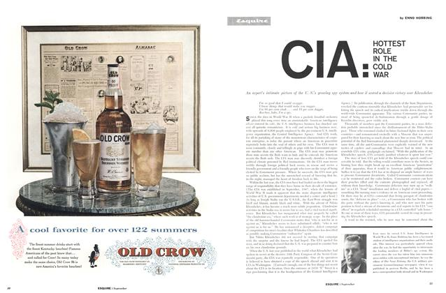 CIA: Hottest Role in the Cold War