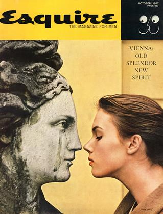 Cover for the October 1957 issue