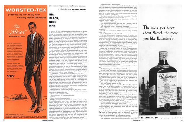 Article Preview: Big, Black, Good Man, NOVEMBER, 1957 1957 | Esquire