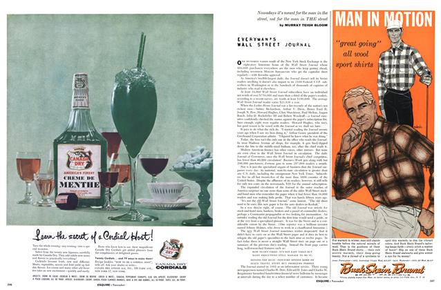 Article Preview: Everyman's Wall Street Journal, NOVEMBER, 1957 1957 | Esquire