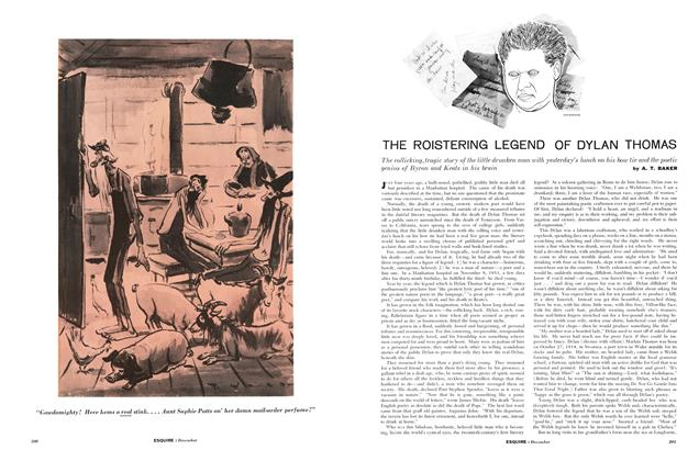 Article Preview: The Roistering Legend of Dylan Thomas, DECEMBER, 1957 1957 | Esquire