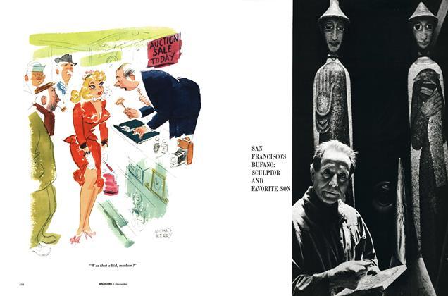Article Preview: San Francisco's Bufano: Sculptor and Favorite Son, DECEMBER, 1957 1957 | Esquire