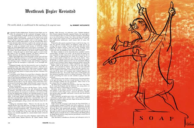 Article Preview: Westbrook Pegler Revisited, DECEMBER, 1957 1957 | Esquire